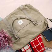 《韓版》簡約質感大容量旅行手提/拉桿收納包(卡其色)