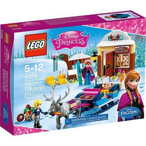 LEGO 迪士尼公主系列 41066 冰雪奇緣 安娜和阿克的雪橇冒險(Anna&Kristoff)