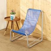 《BuyJM》輕便型可拆式帆布休閒椅(藍色)