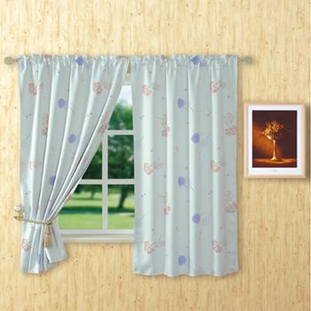 無紗紫羅蘭遮光窗簾