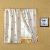 和風蒲公英遮光窗簾