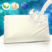 《精靈工廠》天然透氣孔乳膠枕。平面型1入(B0953-E)