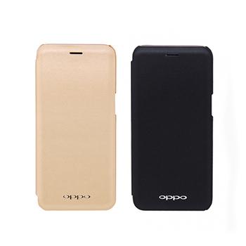 《OPPO》R11s 原廠無視窗皮套 (台灣公司貨-盒裝)(金色)
