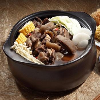 岡山一新羊肉爐-帶皮羊肉(2000g(固形物:300g)/包)