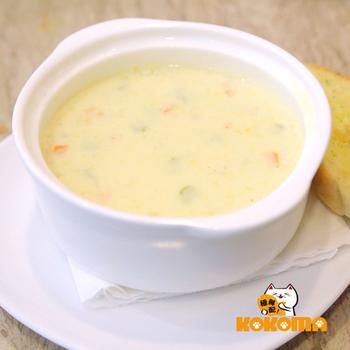極鮮配 奶油雞肉玉米濃湯 (220g±10%/包)(1包入)