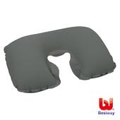 《艾可兒》Bestway植絨旅行用充氣枕/U型枕/ㄇ型頸枕