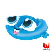 《艾可兒》《Bestway》水中生物造型充氣泳圈(鯨魚)