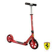 《FERRARI》艾可兒-兩輪折疊減震滑板/滑行車(紅-(成人用))