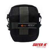 《艾可兒》《SUPER-K》炫黑系列-個性化手提側背隨身小包