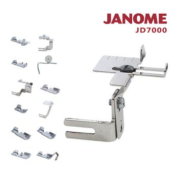 《日本車樂美JANOME》拷克機專用壓布腳組合JD7000(JD7000)