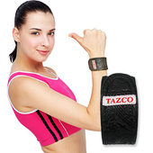 《TAZCO》腕部能量舒活帶(黑色:5x30 公分)