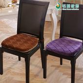 《歐卓拉》莎曼風情餐椅墊(咖色2入)