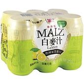 《崇德發》檸檬白麥汁(330ml*6罐/組)