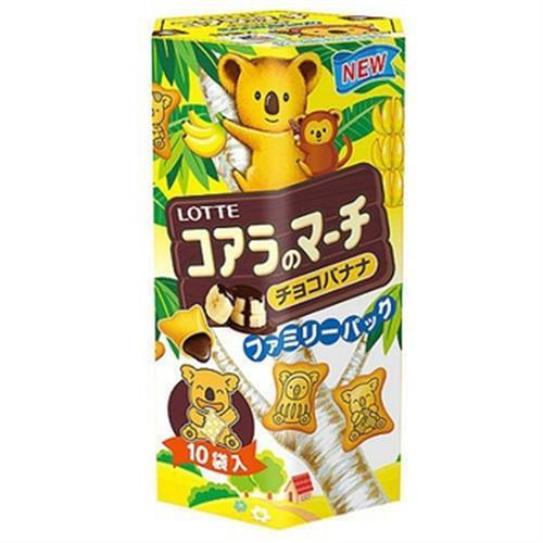 樂天 小熊餅家庭號-香蕉巧克力風味(195g)