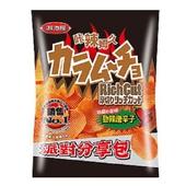 《卡辣姆久》厚切洋芋片-勁辣唐辛子口味(153g/包)