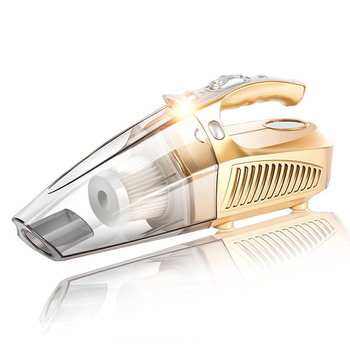 《新一代》多功能高壓氣旋式車用吸塵器(香檳金)
