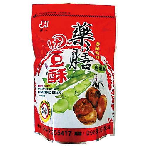 《華上》藥膳田豆酥 300g/包(蔥椒麻-即期2020.07.03)