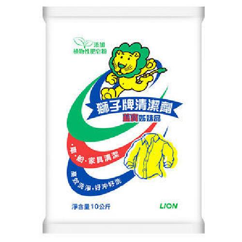 《獅王》獅子牌清潔劑(10kg)