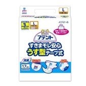 《日本大王》Attento超透氣防漏紙尿褲(黏貼型)L(17片/包)