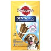 《寶路》X型潔牙骨中型犬4支入98g(原味)