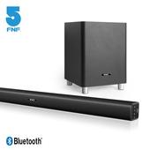 《ifive》3D環繞家庭劇院聲霸(藍牙聲霸Soundbar+6.5吋獨立重低音)(黑色)