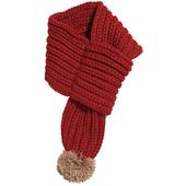 兒童毛球保暖圍巾隨機出貨