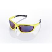 《視鼎Z-POLS》【三代頂級運動款】新一代TR太空纖維彈性輕量材質 弧形包覆設計 頂級運動眼鏡 / 太陽眼鏡 /墨鏡(亮螢光黃款)