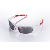 《視鼎Z-POLS》【三代頂級運動款】新一代TR太空纖維彈性輕量材質 弧形包覆設計 頂級運動眼鏡 / 太陽眼鏡 /墨鏡(質感白款)