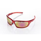 《視鼎Z-POLS》【三代頂級運動款】新一代TR太空纖維彈性輕量材質 弧形包覆設計 頂級運動眼鏡 / 太陽眼鏡 /墨鏡(法拉利紅款)