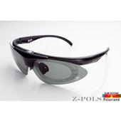 《視鼎Z-POLS》【全新設計款 】強化型消光黑 保麗來偏光 可配度頂級運動眼鏡 / 太陽眼鏡 / 墨鏡(質感消光黑)