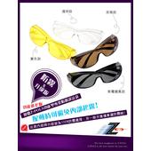 《視鼎Z-POLS》防霧升級版!可包覆近視眼鏡【專業防霧款】!舒適抗UV400紫外線運動包覆太陽眼鏡(無電鍍黑款)