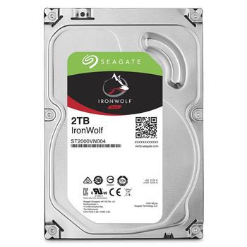 Seagate 【IronWolf】那嘶狼 2TB 3.5吋NAS硬碟 (ST2000VN004)(ST2000VN004)
