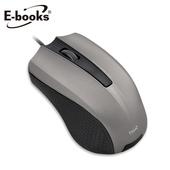 《E-books》M36 灰星貂1600CPI光學滑鼠(鐵灰)