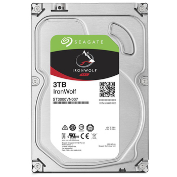 Seagate 【IronWolf】那嘶狼 3TB 3.5吋NAS硬碟 (ST3000VN007)(ST3000VN007)