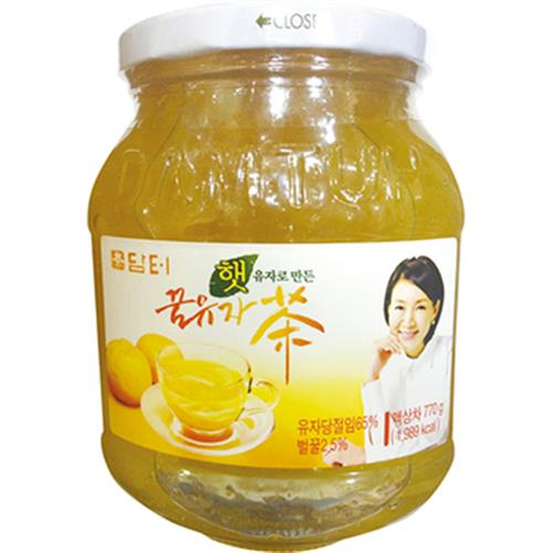 《韓國》蜜柚子茶(770g/罐)