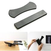 奈米矽膠無痕手機平板萬用隨意貼套組(黑)
