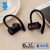 《ifive》IPX6真無線對耳藍牙耳機if-DU02(經典黑)