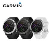 《Garmin》vivoactive3 行動支付心率智慧腕錶 GPS運動錶(俐落黑)