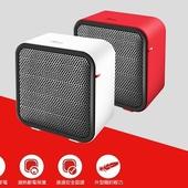 《Abee》快譯通快暖型迷你電暖器 PTC MINI(紅色)