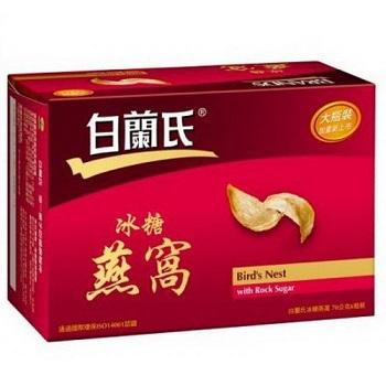 白蘭氏 冰糖燕窩 (70g*6瓶/盒.8盒/箱)