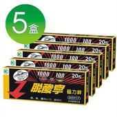【日本進口】脫酸寧 磁力絆/磁力貼(1000毫高斯磁力)_100粒(20粒*5盒)