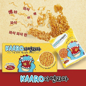 《韓國KAARO》小恐龍點心麵12包/盒(16公克/包)(2盒)