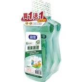 《刷樂》專業護理漱口水750ml*2瓶特惠組(清新口味)