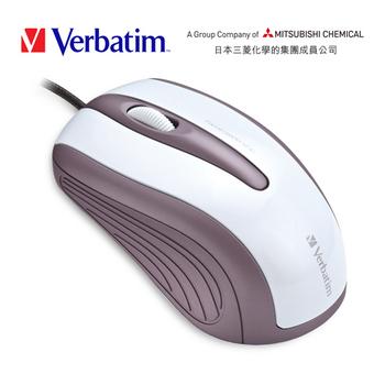 《Verbatim》VM4 光學1600CPI滑鼠(白)