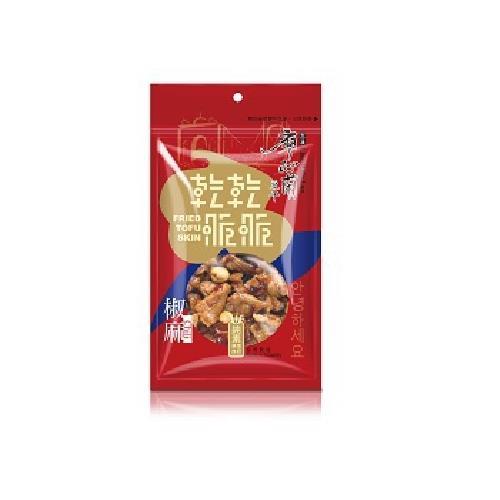 廖心蘭 乾乾脆脆豆干(椒麻-80g/包)