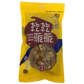 《廖心蘭》乾乾脆脆豆干-80g/包(柴魚)