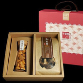 《十翼饌》海陸臻賞禮盒(新社香菇100g+北海道干貝100g)(五盒)