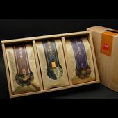 《十翼饌》山野珍藏禮盒 (新社香菇+黑木耳+龍眼乾)(三盒)