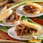 《極鮮配》營養滿分 喜生米漢堡 (3入/包)(B.牛老大3入組-牛肉/牛丼/沙茶牛肉-1包入)