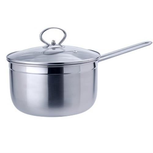Dashiang 304不鏽鋼單把湯鍋20cm(附蓋)
